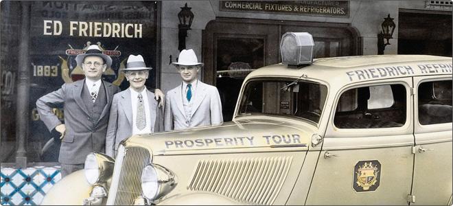 Friedrich Company History
